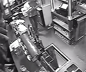 Bartender Falls Down 10-Foot Hole