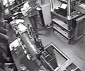 Bartender Falls Down 10-Foot Hole