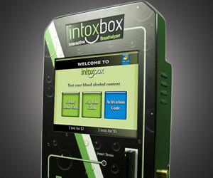 IntoxBox Breathalyzer : Got Your BAC