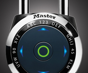 video on how to open speed dial master lock