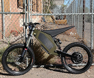 Stealth Hurricane Fast Electric Bike