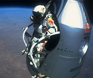 128,000 Foot Supersonic Freefall