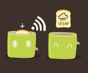Weather Forecasting Toaster : Jamy