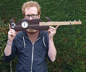 Moustache Guitar by Tom Fox