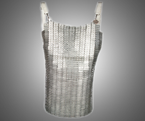 Vintage French Chain Mail Apron