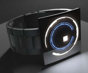 Sci-Fi Films Inspired LED Watch : Concept