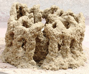 Stone Spray : Prints 3D Sand Structures
