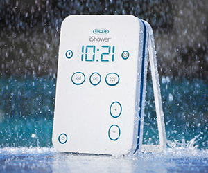 iShower Waterproof Bluetooth Speaker
