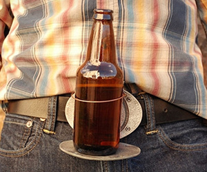 BevBuckle Beer Holder