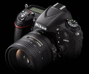 Nikon D600 Full-Frame DSLR