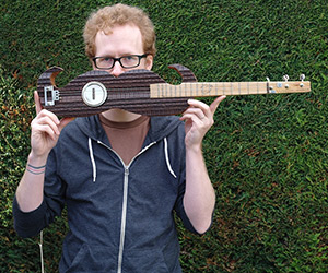 Moustache Guitar by Tom Fox