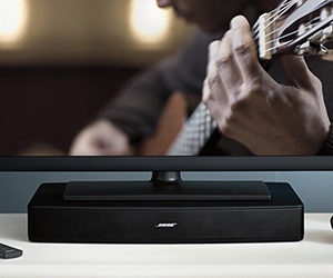 TV Sound System: Bose Solo
