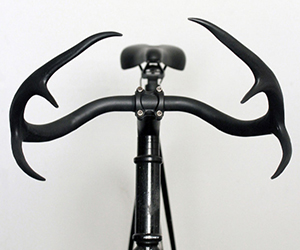 Deer Antler Bicycle Handlebars
